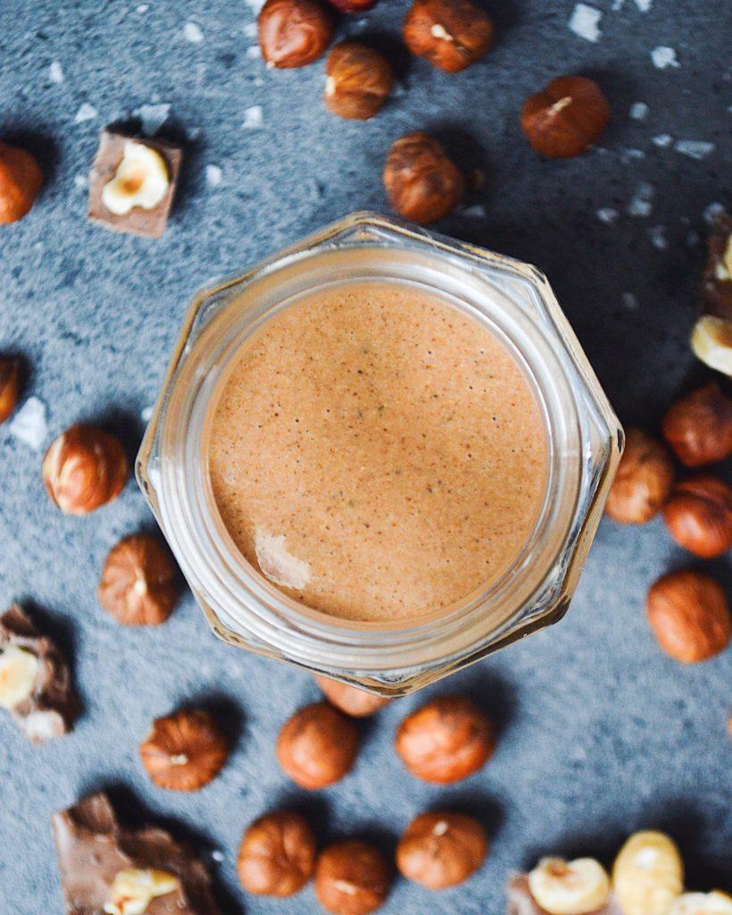 Nougat nøddesmør uden tilsat sukker