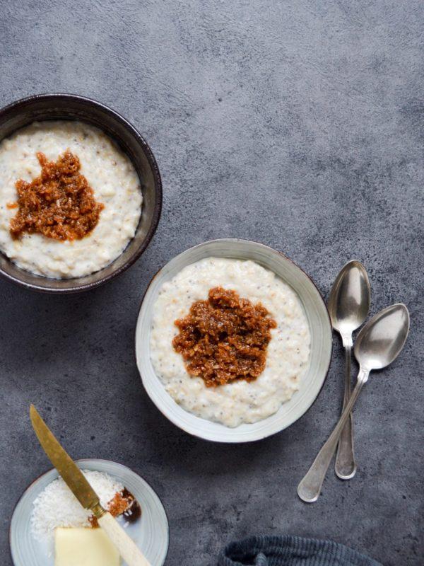 Drømmekagegrød – drømmekage til morgenmad!
