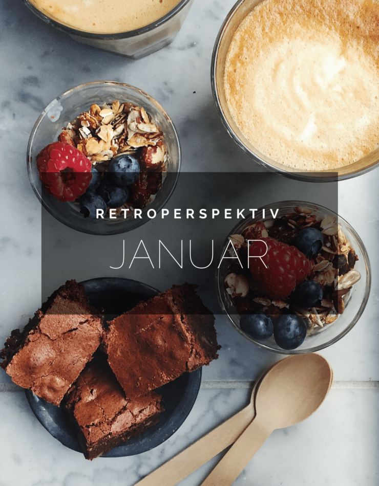 Retroperspektiv // tilbageblik på Januar