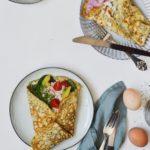 Æggewrap i to versioner - perfekt til morgenmad, frokost og aftensmad