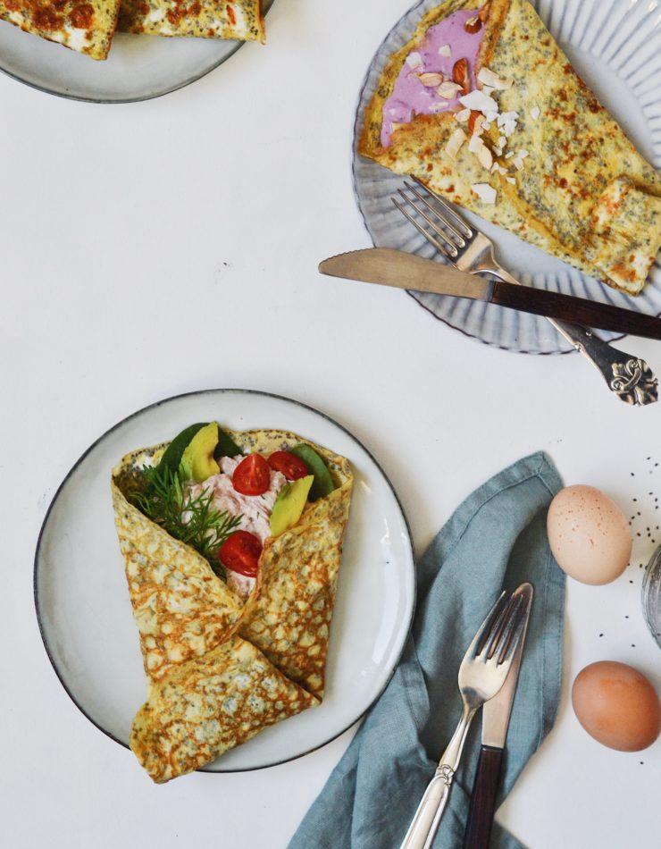Æggewraps i 2 versioner!