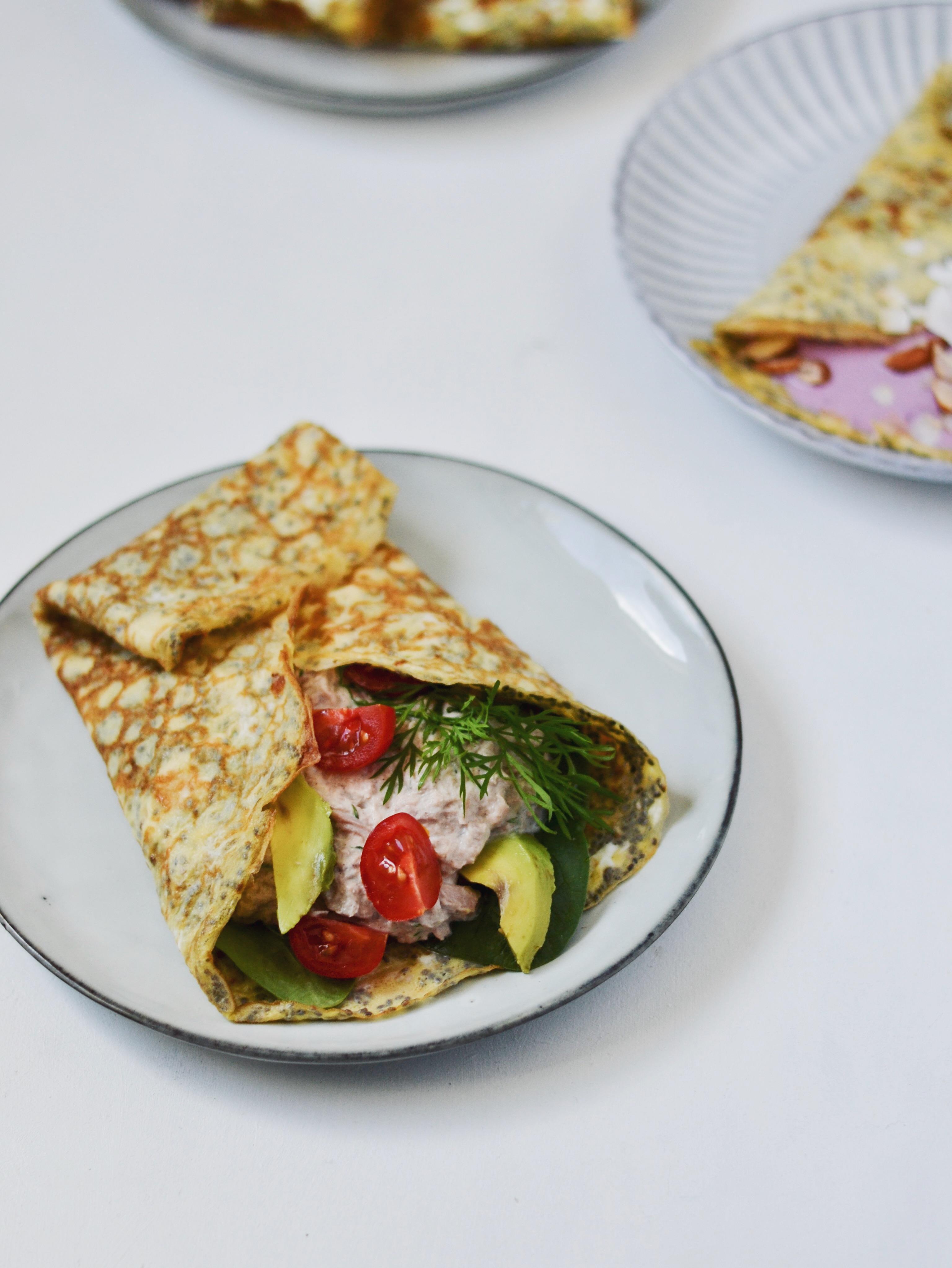 Æggewraps i to versioner - perfekt til morgenmad, frokost og aftensmad