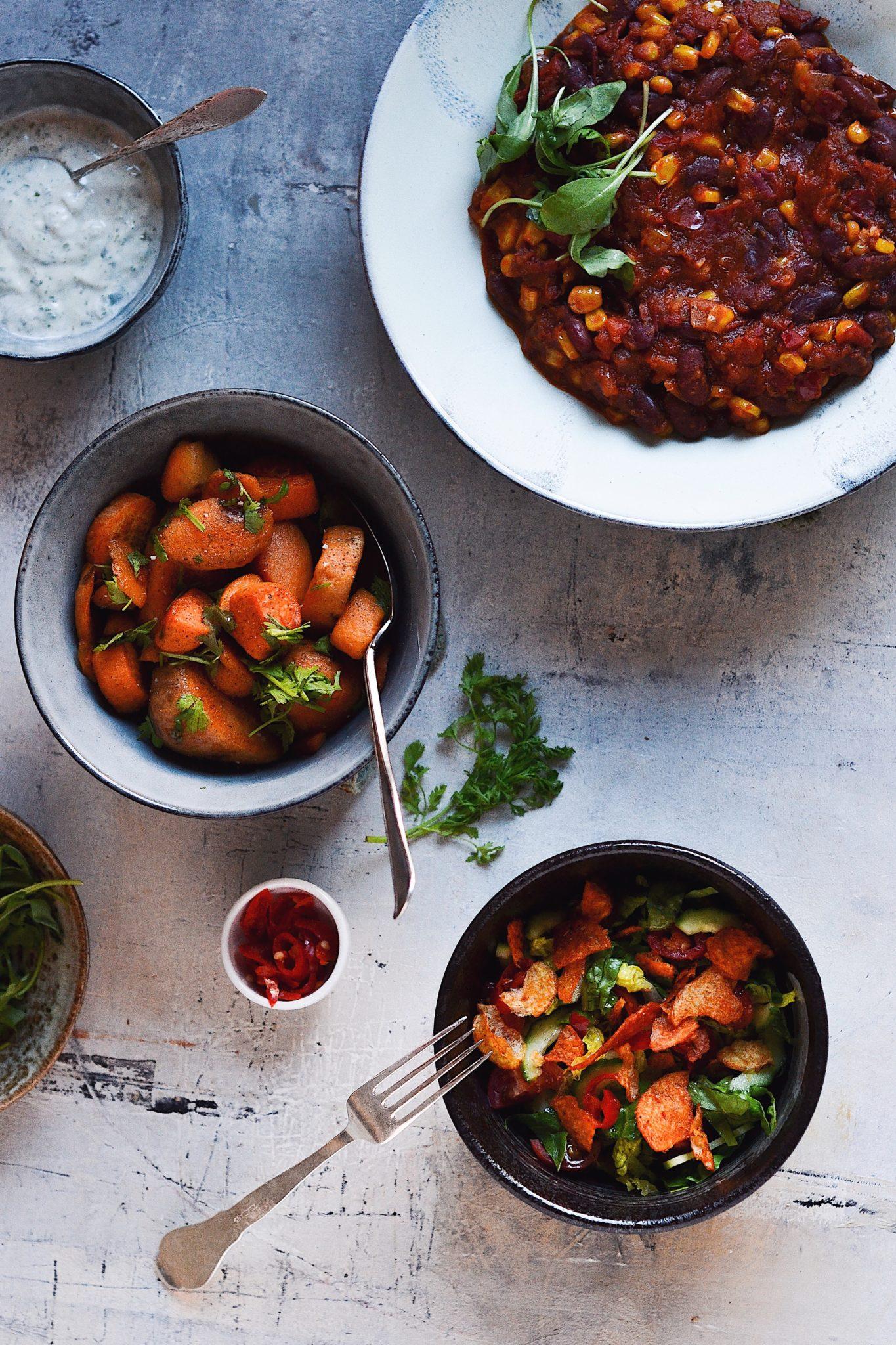 simple feast maaltidskasse vegansk