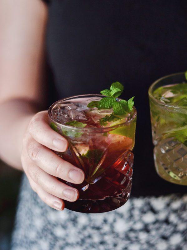 Alkoholfri mojito i to fantastiske versioner