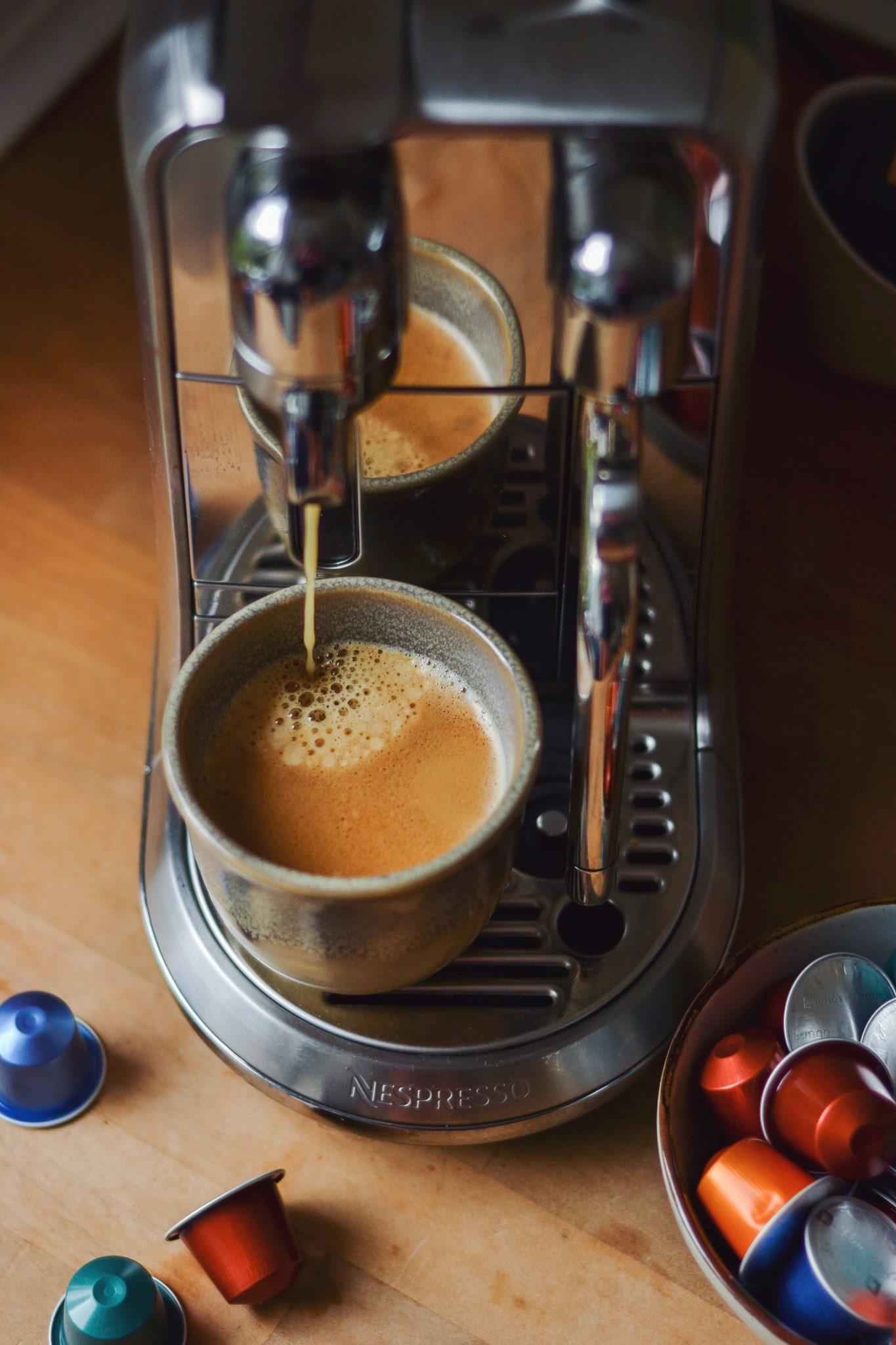 Nespresso breakfast club fødselsdagsbrunch køleskabsgrød med kaffe