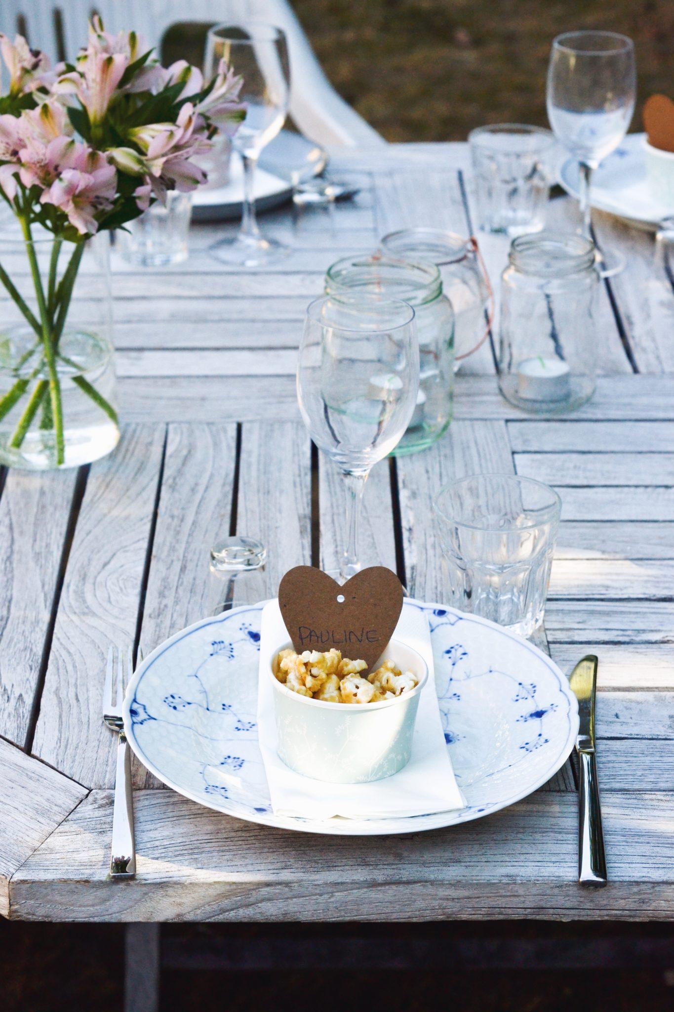 sommerfest foedselsdagsfest inspiration borddækning menu sommermad
