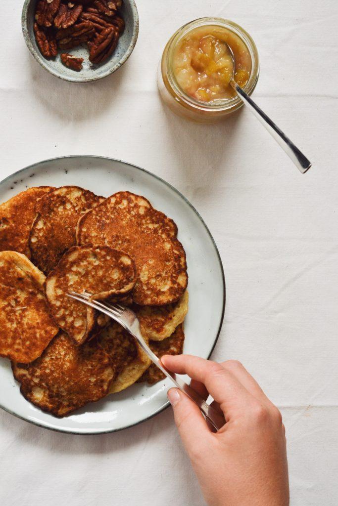 Klatkager lavet med havregrød