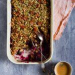 Sund havregrødskage / bagt grød 2