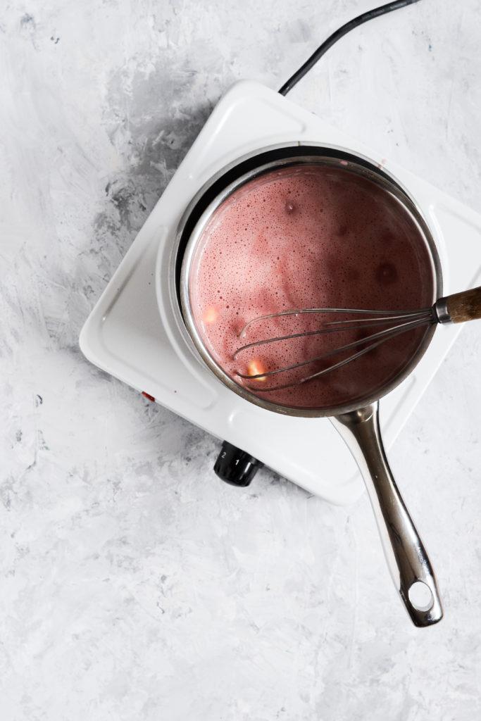 Hindbær curd med appelsin 4