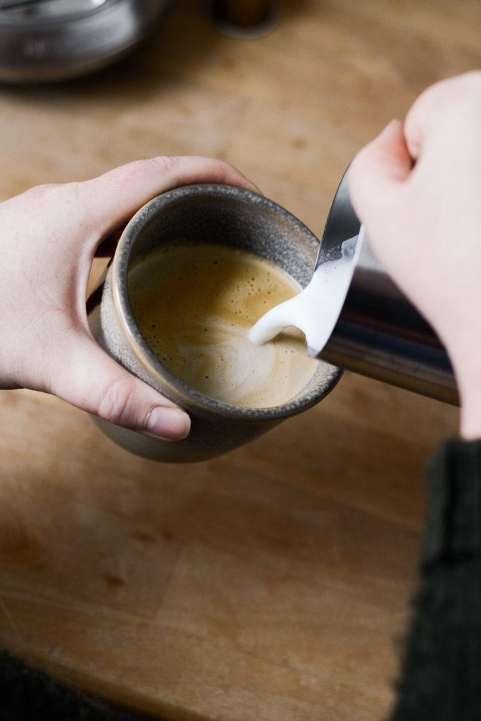 Fuldkornsvafler med kaffecreme 4
