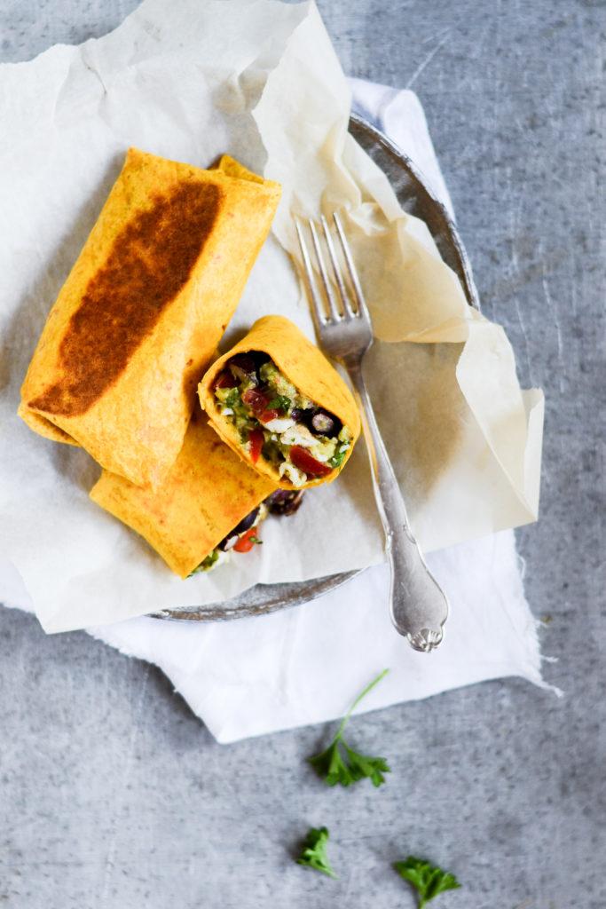Vegetarisk burrito
