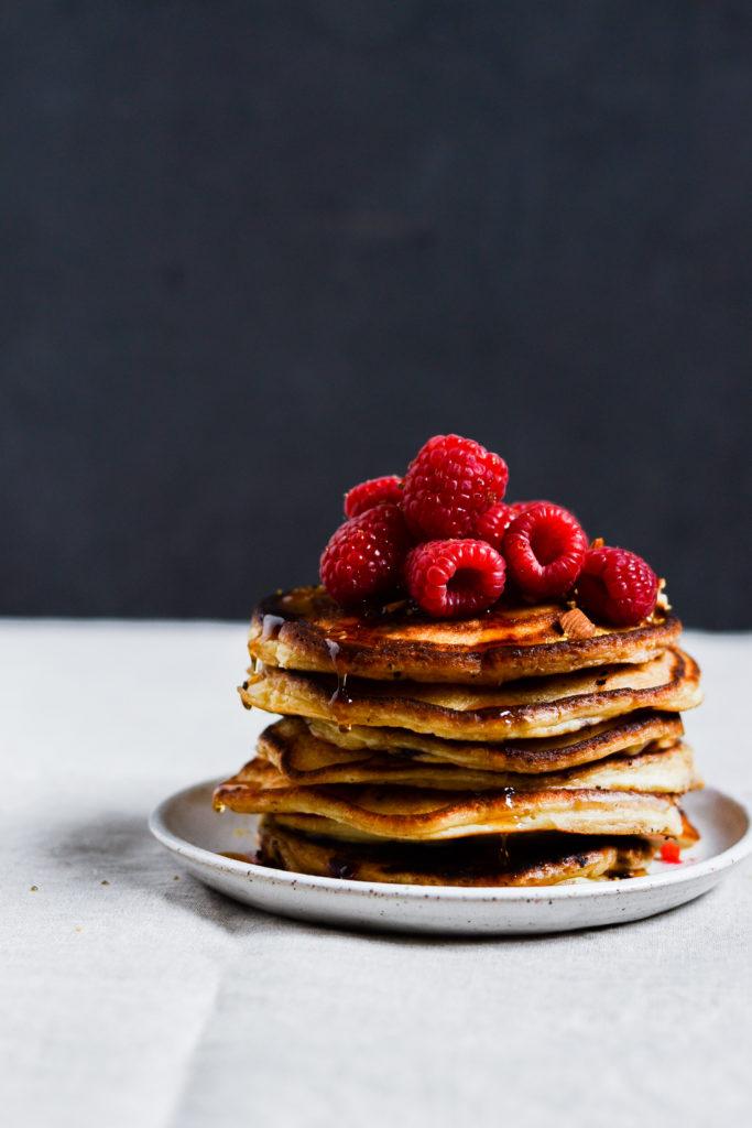 Mascarpone pandekager med bær 1