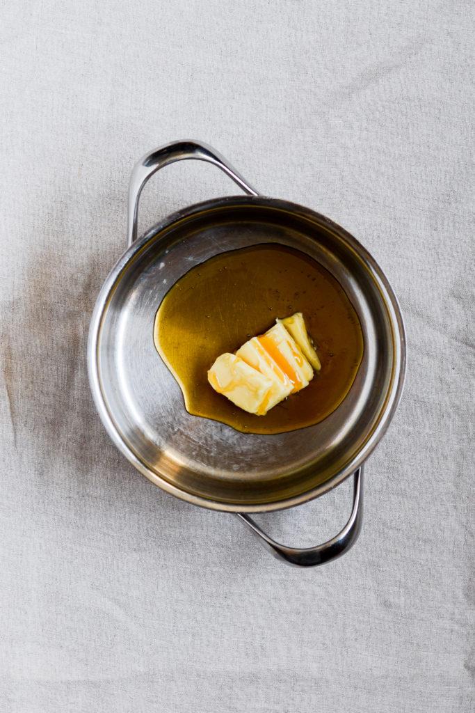 hjemmelavet honningristet müsli i ovn