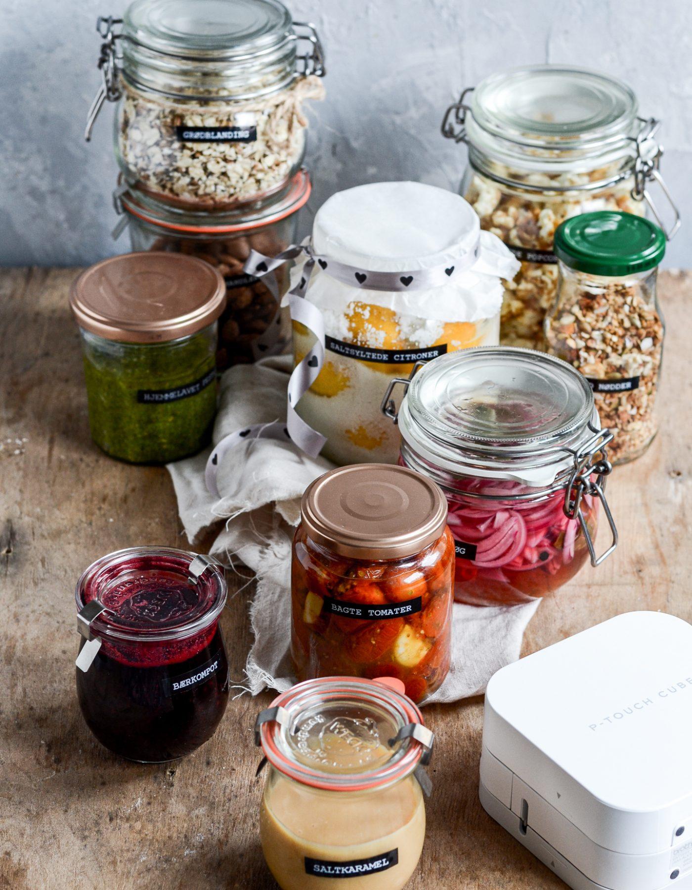 10 spiselige værtindegaver - hjemmelavede