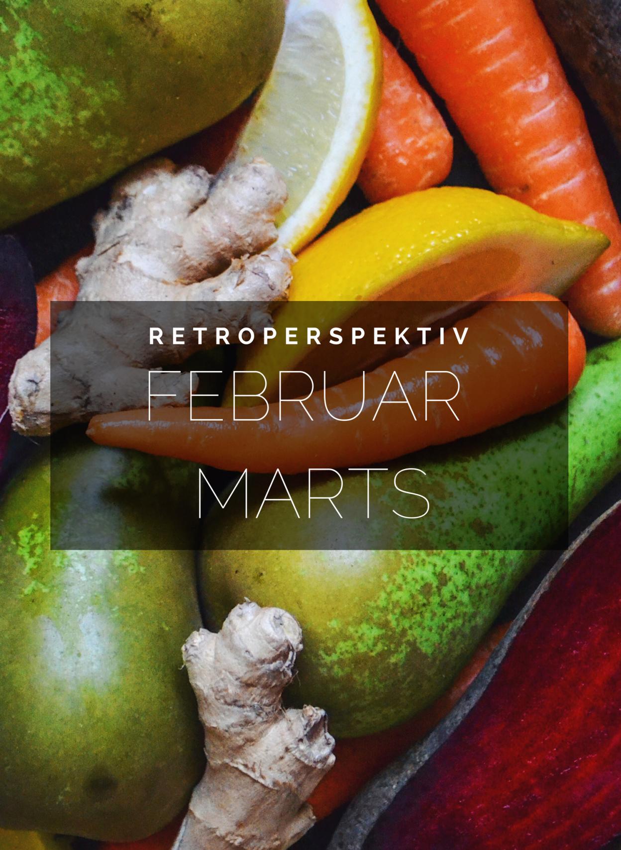 tilbageblik på februar marts retroperspektiv